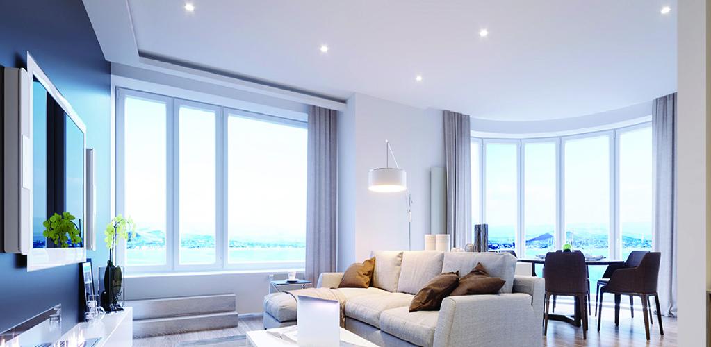 3000K No Housing Required Elite RL1175 11 Round Slim LED Fixture